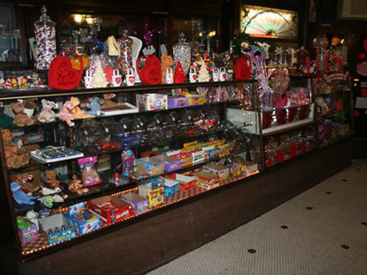Stroll into Eddie's Sweet Shop