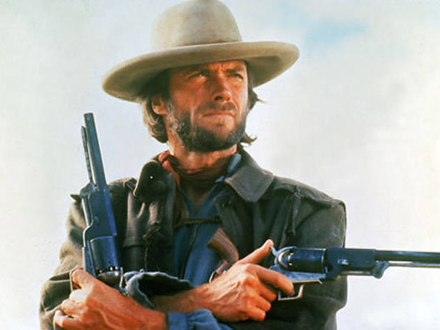 "NO. 1 WITH A BULLET Eastwood guns for glory in ""The Outlaw Josey Wales."""