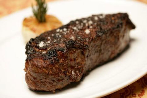 Strip House signature strip steak