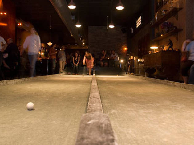 Bocce ball at Union Hall