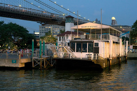 Listen to classical music on the water at Bargemusic