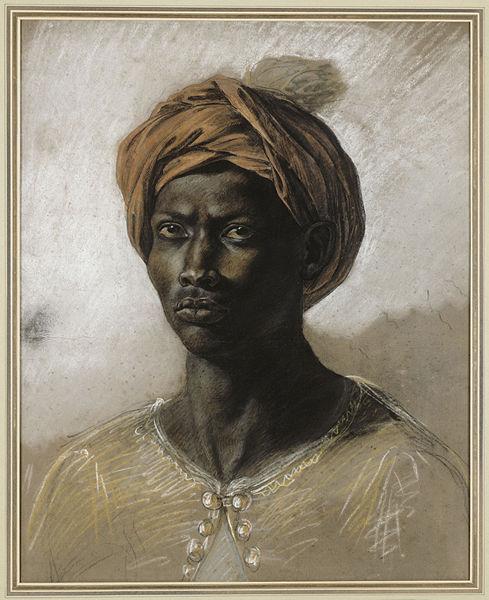 Nègre au Turban by Delacroix