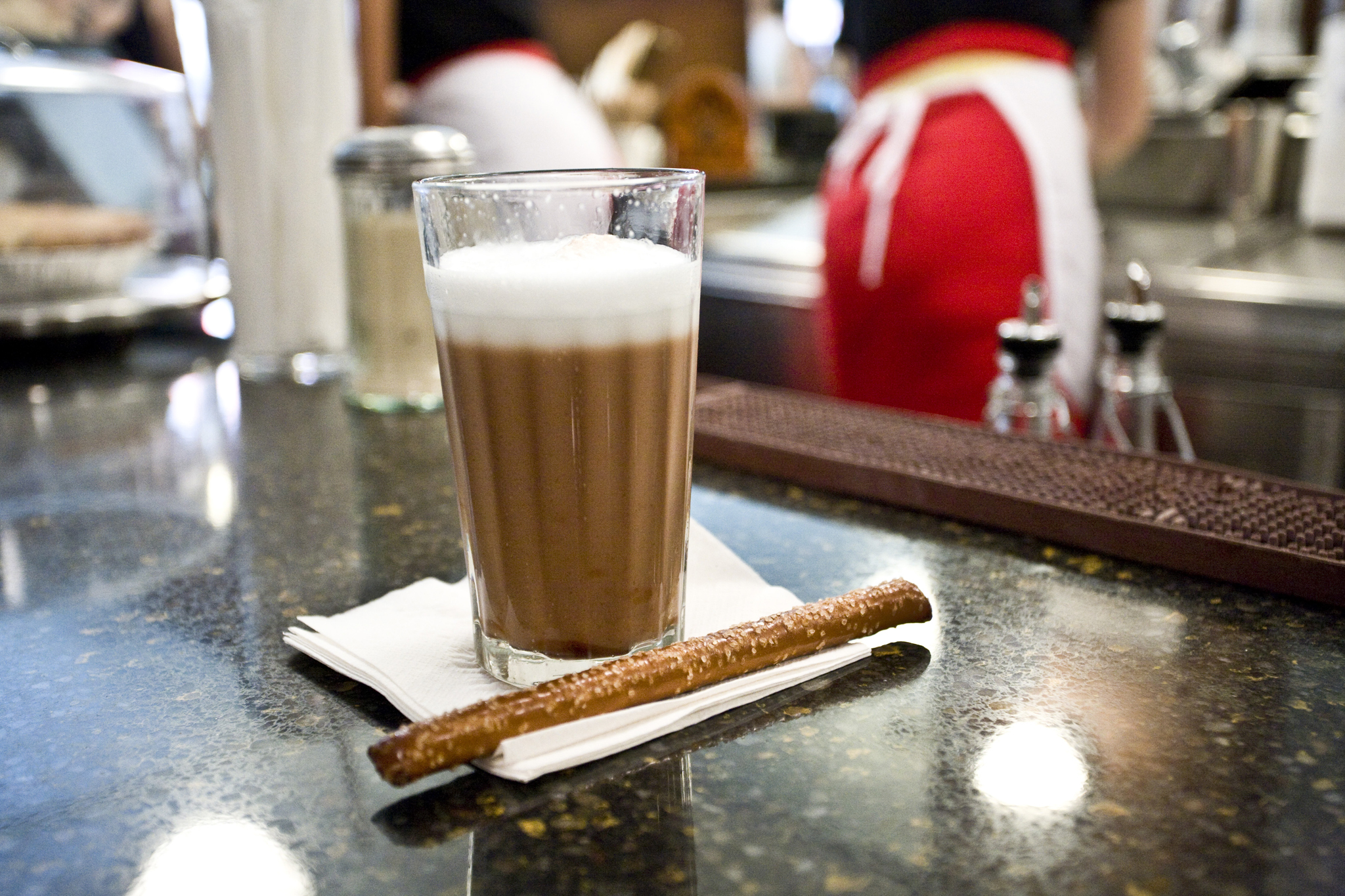 Sip an egg cream