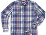 Thomas Pink Acoma check casual shirt, $160, at Thomas Pink, 520 Madison Ave at 53rd St (212-838-1928, thomaspink.com)