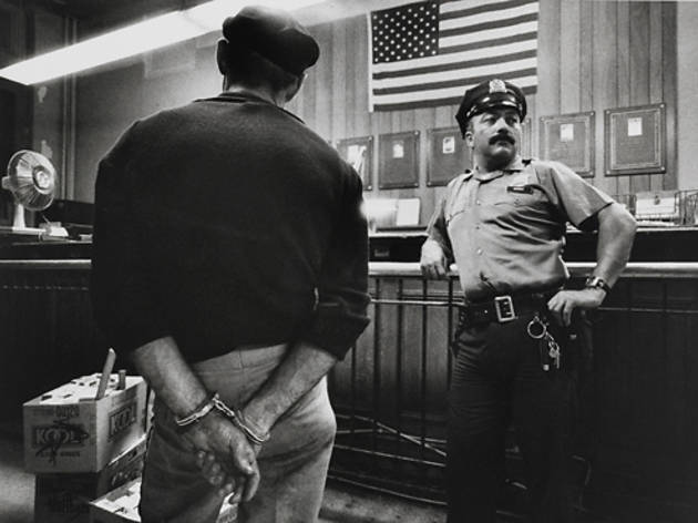 """Police Work: Photographs by Leonard Freed, 1972–1979"""