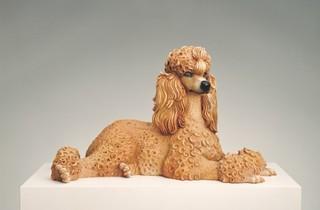 (Jeff Koons, 'Caniche', 1991 / © Musée Collection Berardo / Fondation d'art moderne et contemporain)