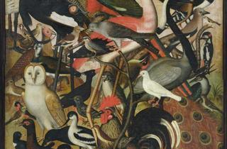 (Anonyme allemand, 'Les Oiseaux', 1619 / © Musée des Beaux-Arts, Strasbourg, photo M. Bertola)