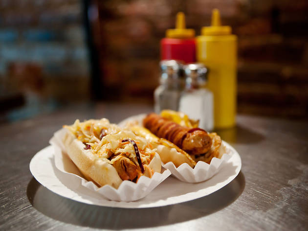 The best cheap hot dogs in NYC