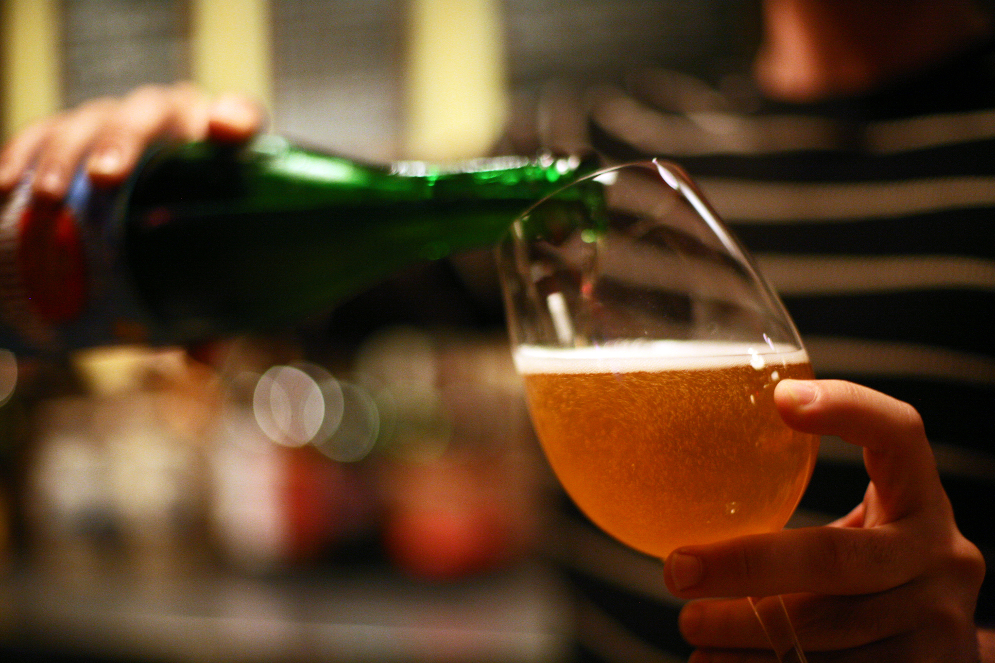 Because July Is Good Beer Month, sample suds all over town