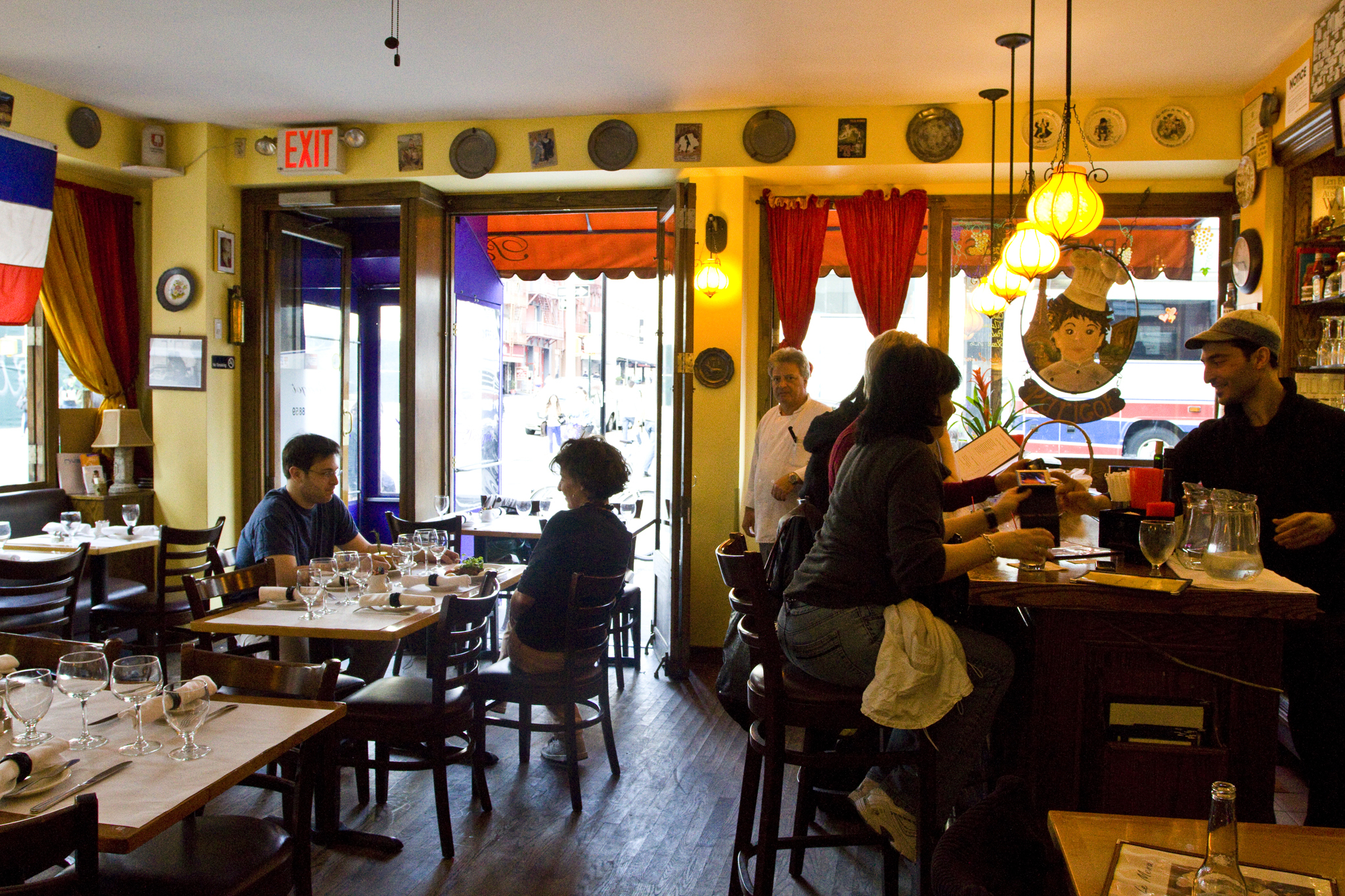 Parigot Restaurants In Little Italy New York