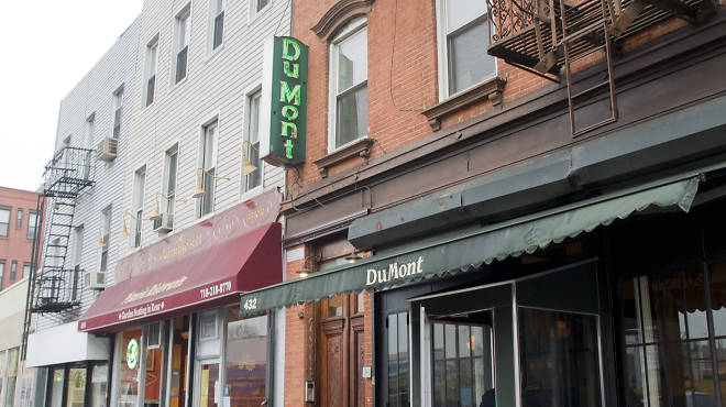 Last exit is closing dumont is being evicted and other for Domont restaurant