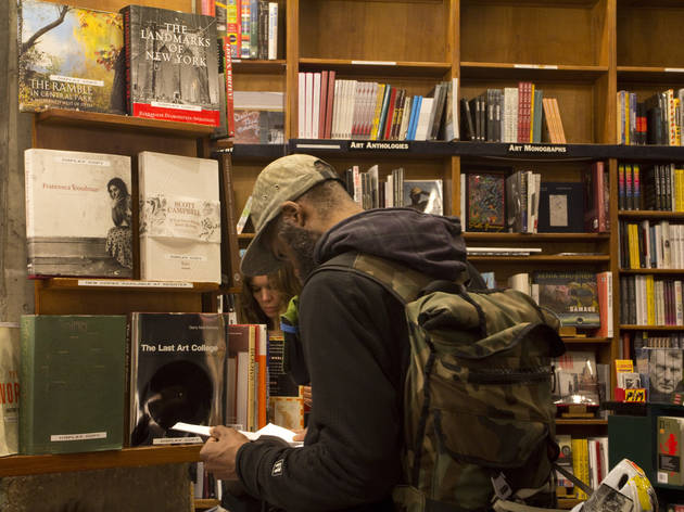 Saint Marks Bookshop (Photograph: Tova Carlin)