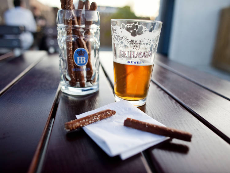 Check out every great beer garden NYC has to offer