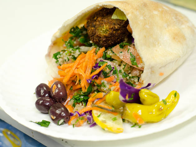 Rainbow Falafel (Time Out, Photograph: Marielle Solan)
