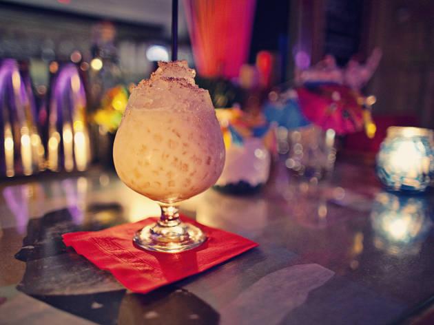 Revelry Kitchen + Bar Tiki party