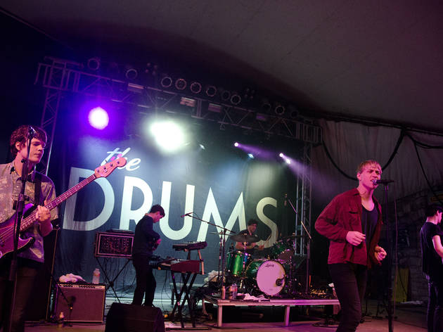 The Drums (Photograph: Marielle Solan)
