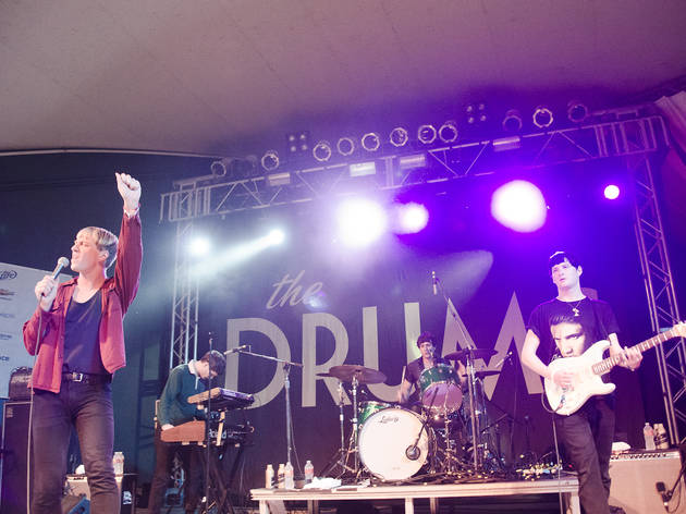 The Drums (Photograph: Marielle Solan)