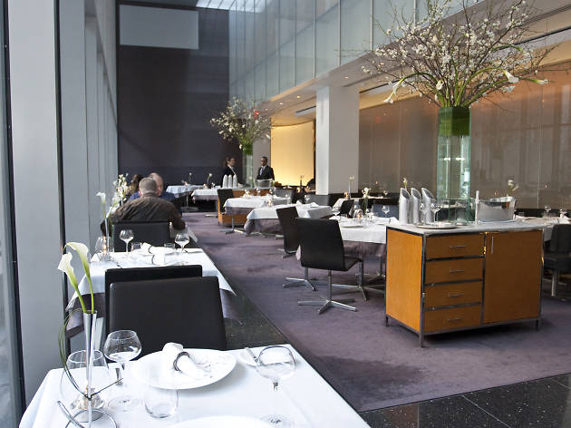 The Modern Bar Room Restaurants In Midtown West New York