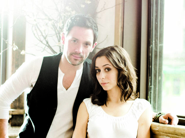 Steve Kazee and Cristin Milioti of Once