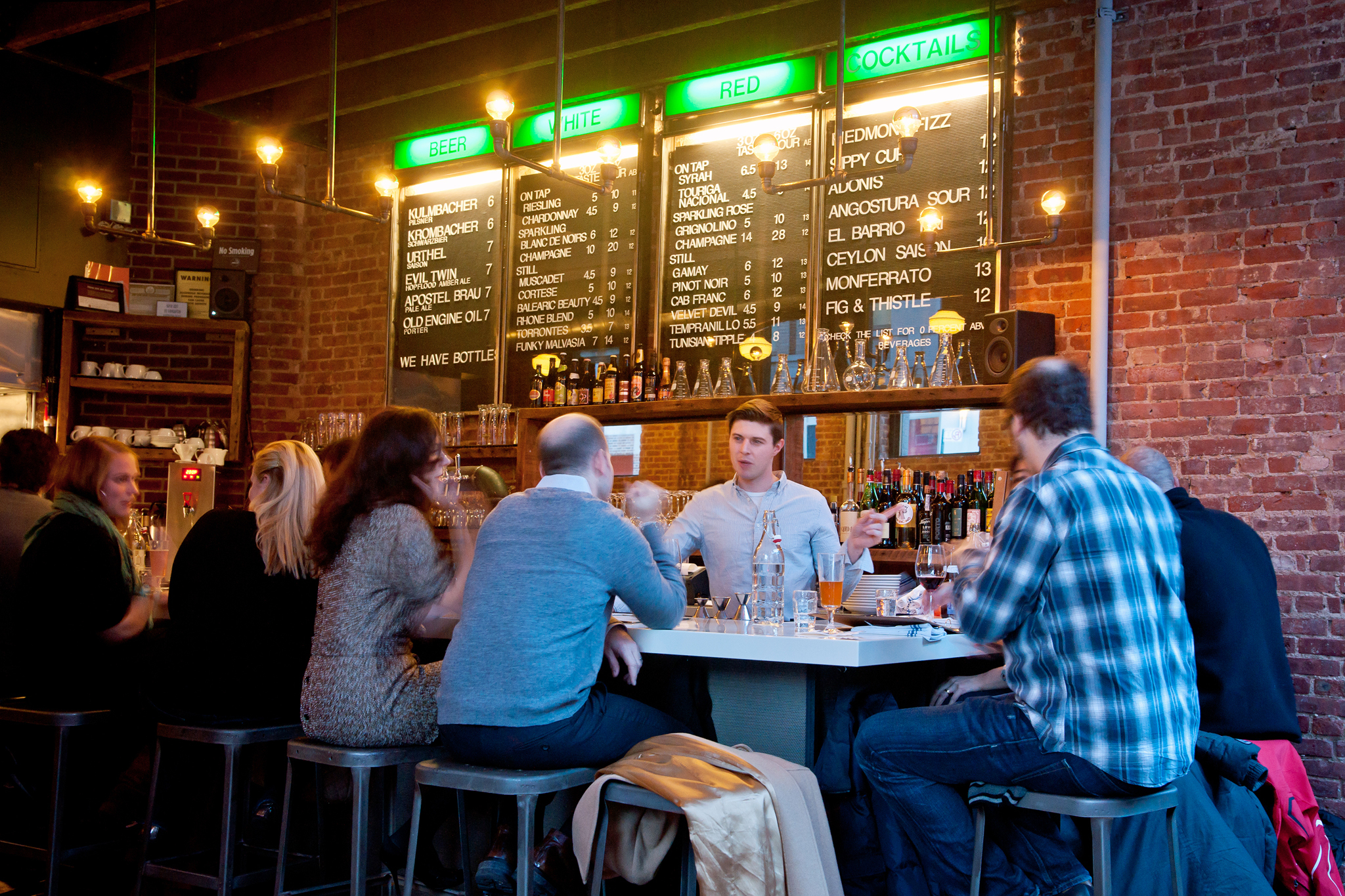 Bars near the Met