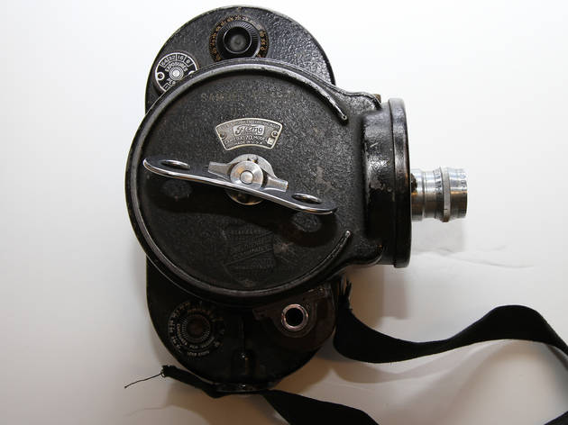 Samuel Fuller Camera (Photograph: Courtesy the Academy of Motion Picture Arts and Sciences)