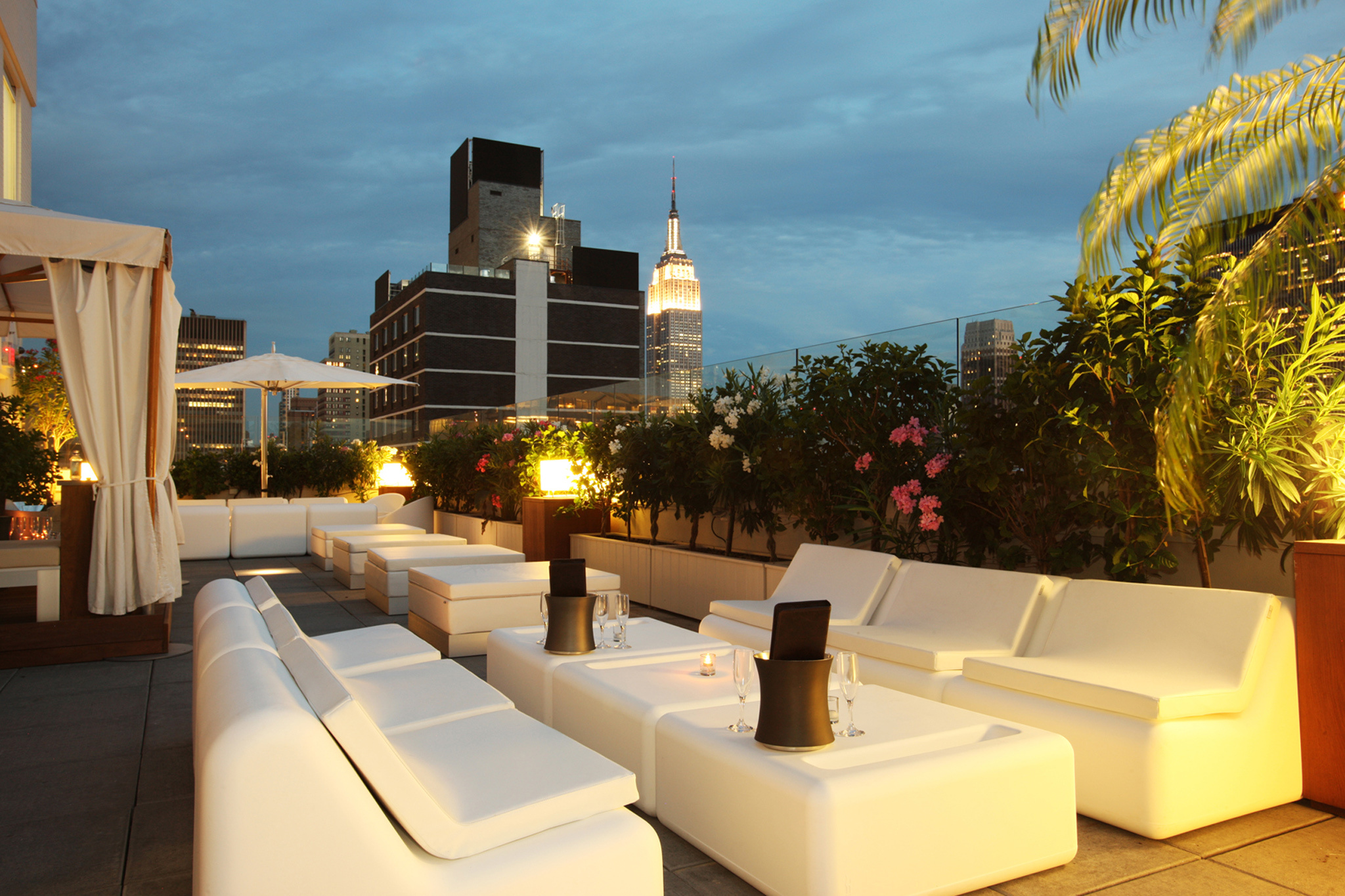 The best rooftop happy hours in NYC