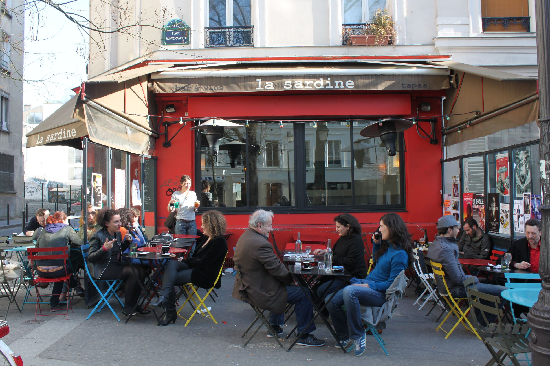 Meilleur bar en terrasse : La Sardine
