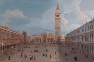 (Canaletto, 'Piazza San Marco' / Collezione privata / © DR)