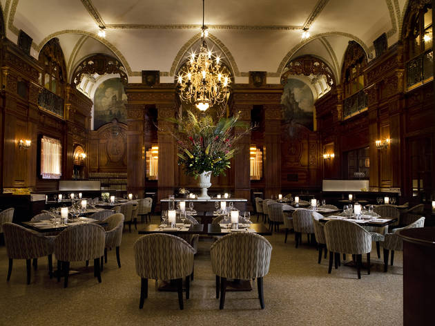 The Oak Room At The Plaza Hotel Closed Restaurants