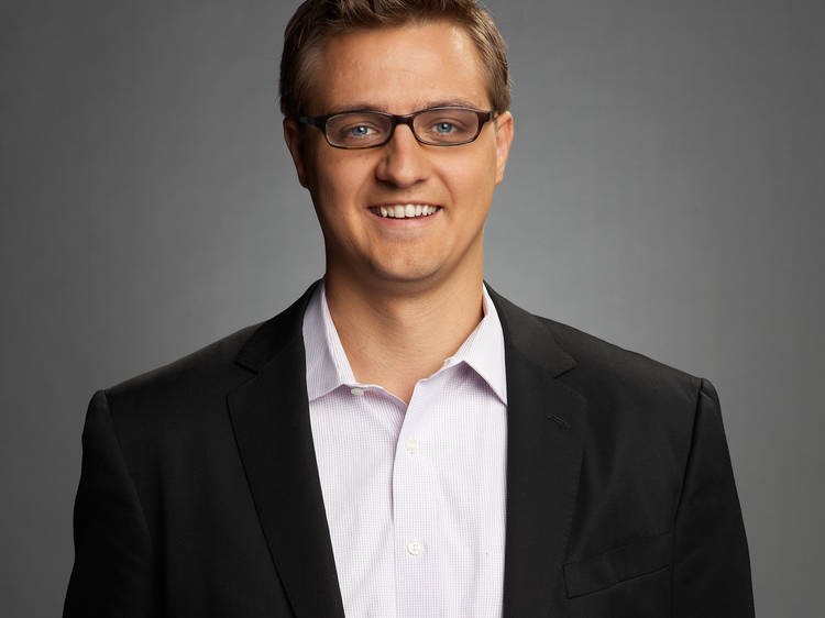 Chris Hayes, host of Up with Chris Hayes and editor-at-large of The Nation