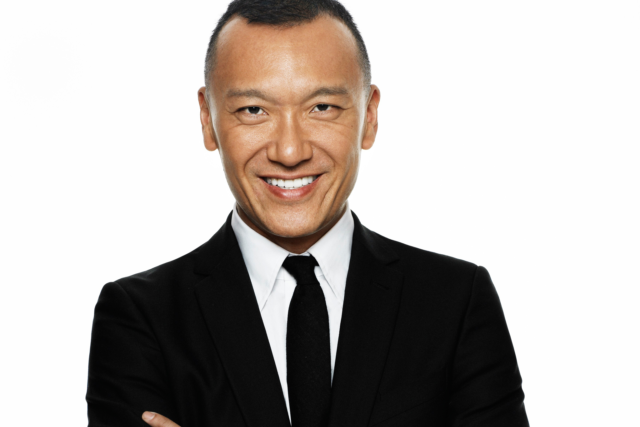 Joe Zee, creative director of Elle and host of All on the Line with Joe Zee