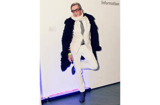 Street fashion: Armory Show (Time Out, Photograph: Lizz Kuehl)