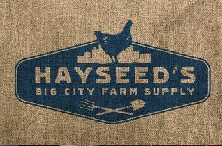 Hayseed's Big City Farm Supply pop-up