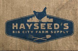 Hayseed's Big City Farm Supply pop-up