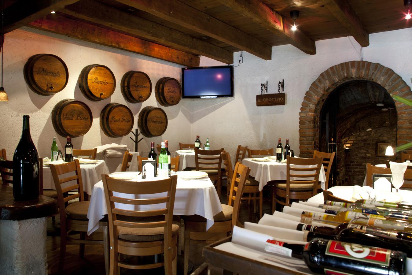 Los mejores restaurantes italianos en el df for Decoracion de pared para restaurante