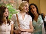 From left, Carrie MacLemore, Greta Gerwig and Megalyn Echikunwoke in Damsels in Distress