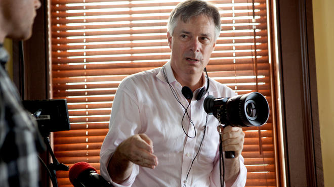 Whit Stillman, director of Damsels in Distress