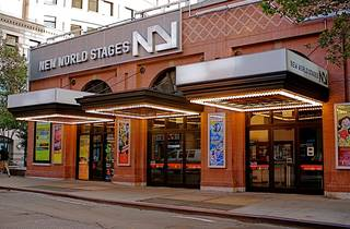 New World Stages Exterior