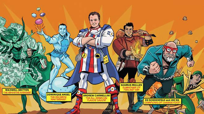Superhero Chinese Food Bronx