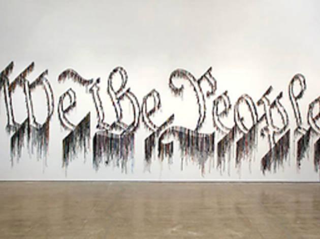 """Nari Ward, """"Liberty and Orders"""""""