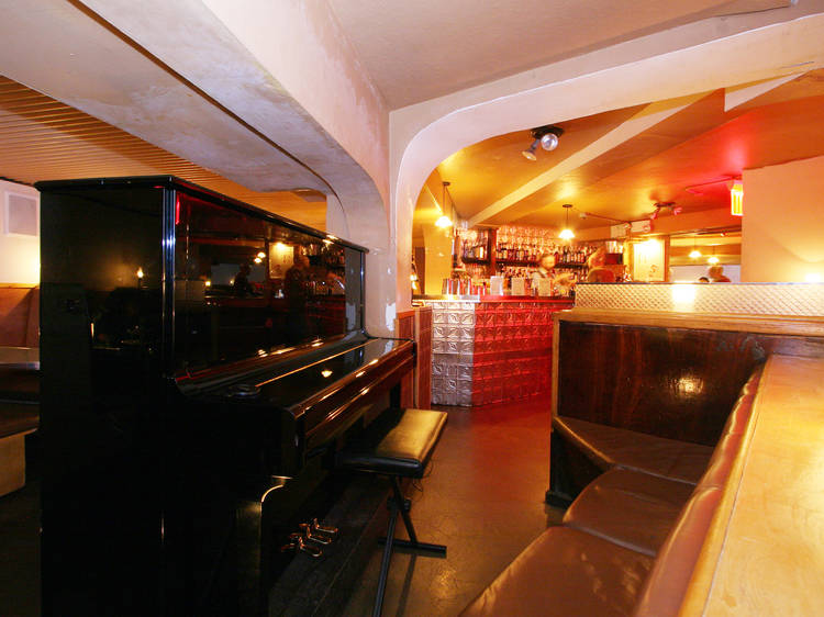 Listen to live piano at Little Branch