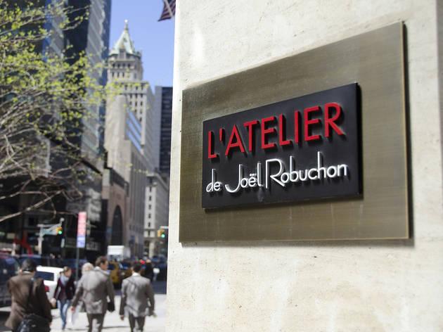 L'Atalier de Joel Robuchon (Photograph: Marielle Solan)