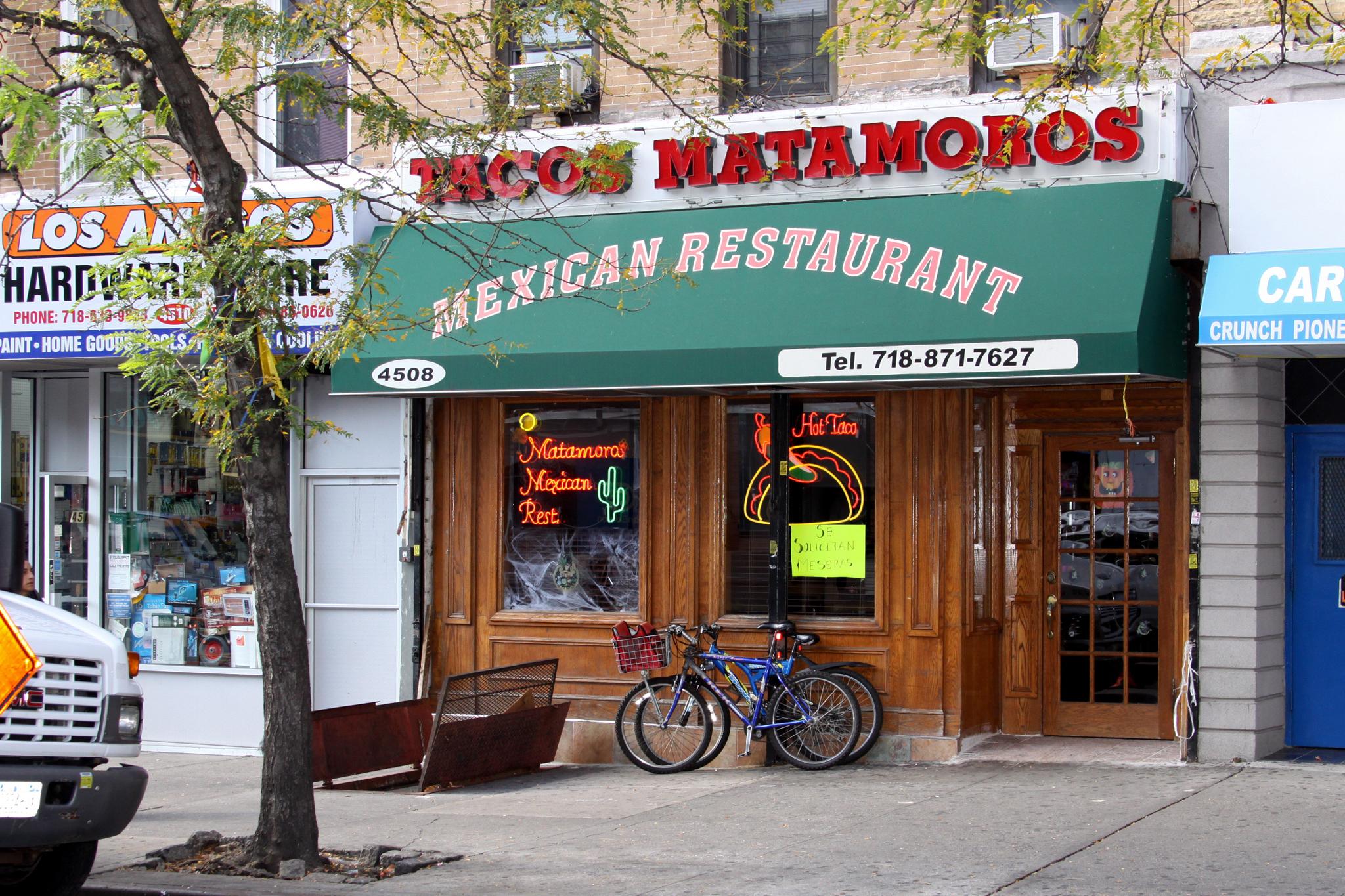 Double up at Tacos Matamoros