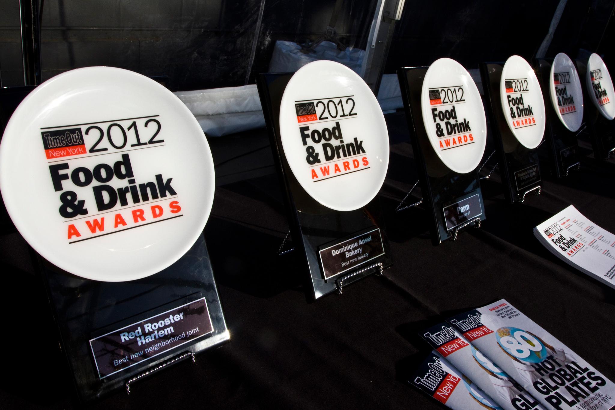 Photos: Food & Drink Awards Ceremony 2012
