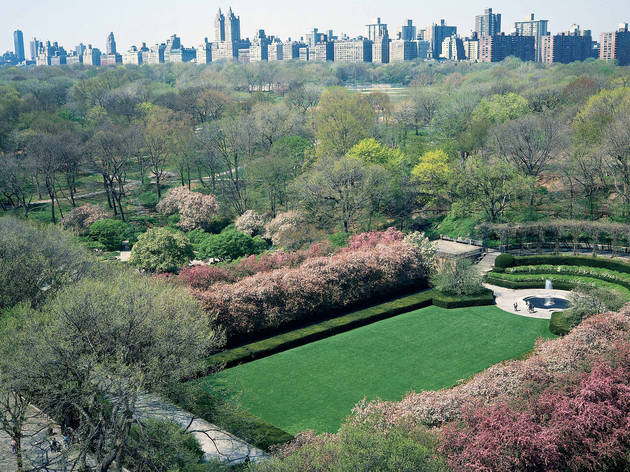 Stroll through Central Park's Conservatory Garden