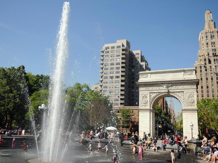 Washington Square by Henry James: Washington Square Park