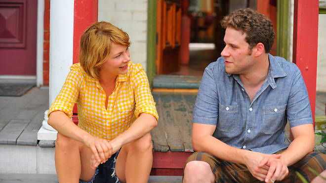 Michelle Williams and Seth Rogen in Take This Waltz