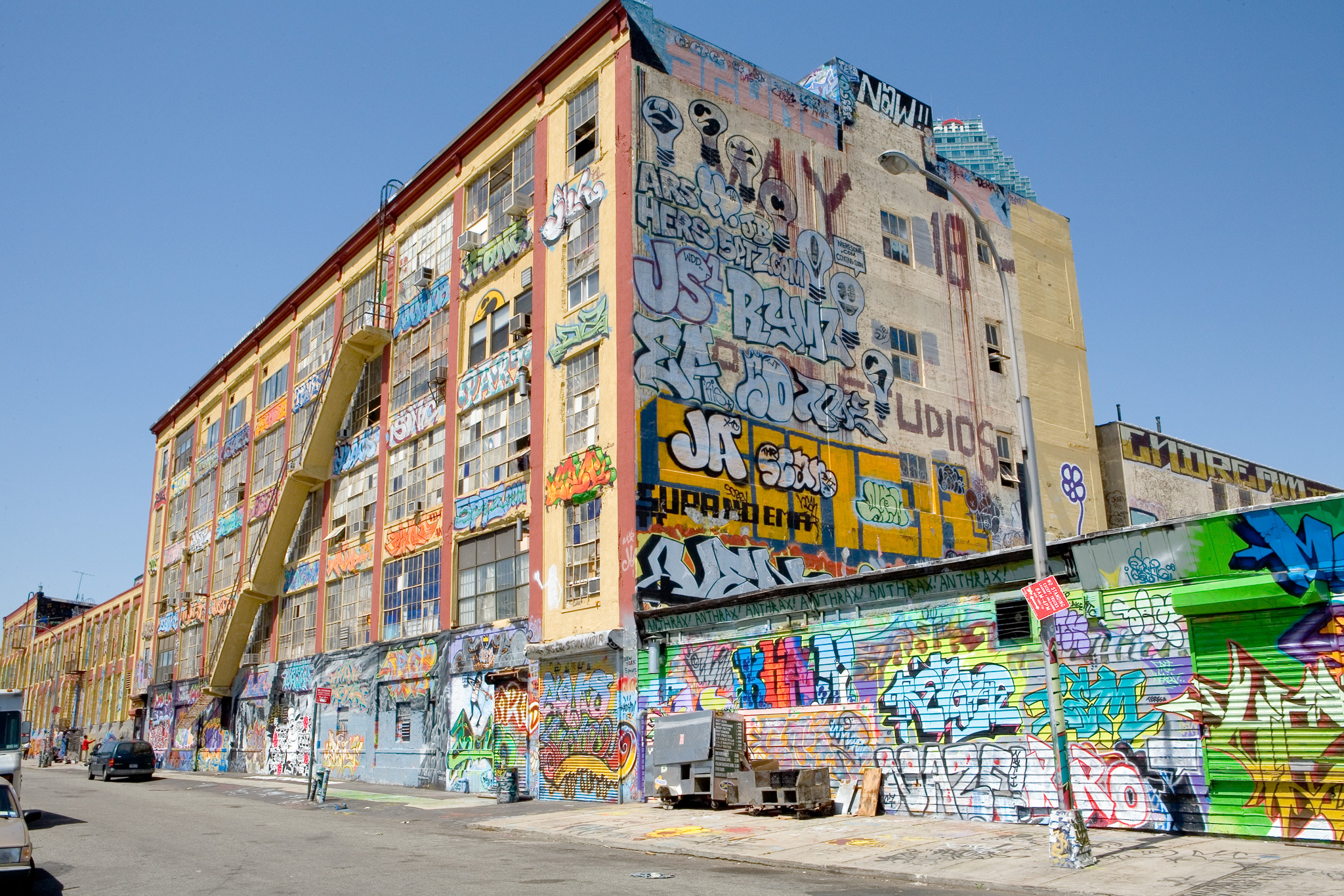 See tons of graffiti at 5Pointz Aerosol Art Center