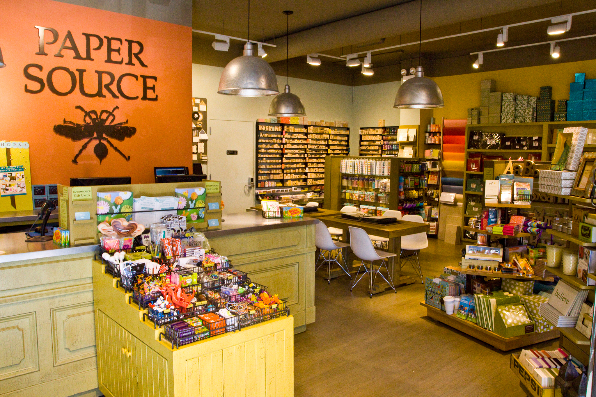 Paper and stationery stores