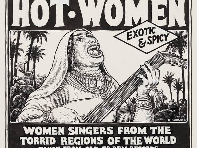 ('Hot Women', 2002 / Photo : Courtesy Paul Morris and David Zwirner, New York / © Robert Crumb)